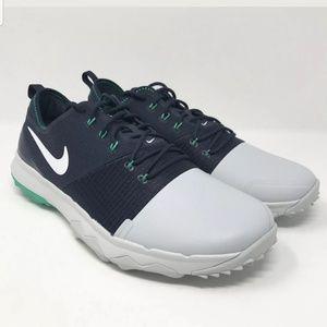 Nike FI Impact 3 Navy Grey White Golf Shoes Men's